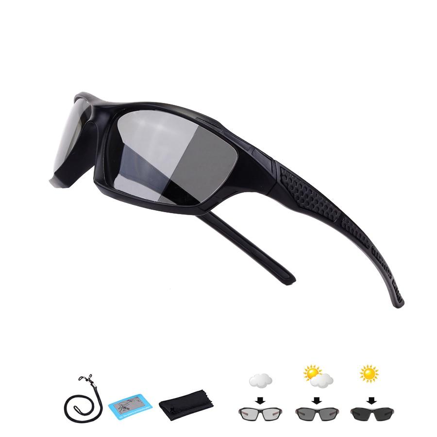 New Polarized Photochromic Cycling Glasses Men Women UV400 Outdoor Sport Bike Sunglasses Racing Bicycle Eyewear Wholesale