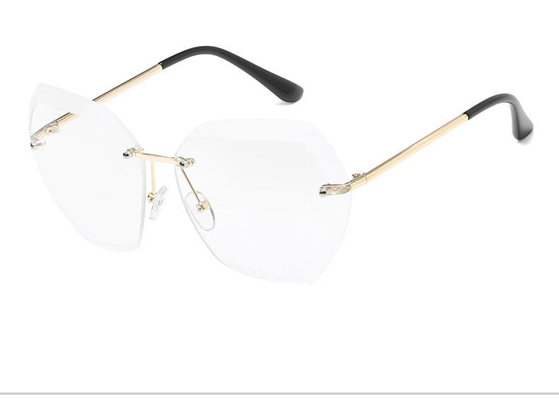 HTB17PEwfxrI8KJjy0Fpq6z5hVXaJ - Luxury Vintage Rimless Sunglasses Women Brand Designer Oversized Retro Female Sunglass Sun Glasses For Women Lady Sunglass 2018