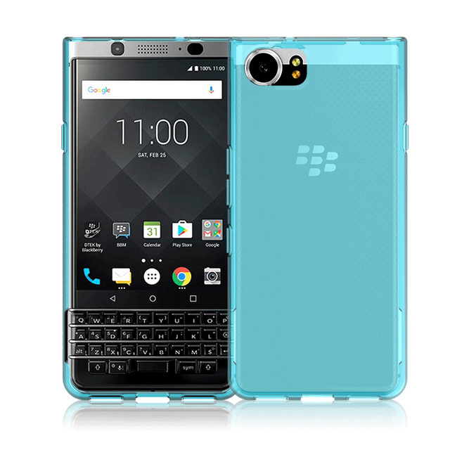 quality design 7b0ac 55abe US $87.4 8% OFF|100pcs/lot.Skid proof Soft TPU Transparent Silicone Clear  Case Cover for BlackBerry KEYone Mercury DTEK70,free shipping by DHL-in ...