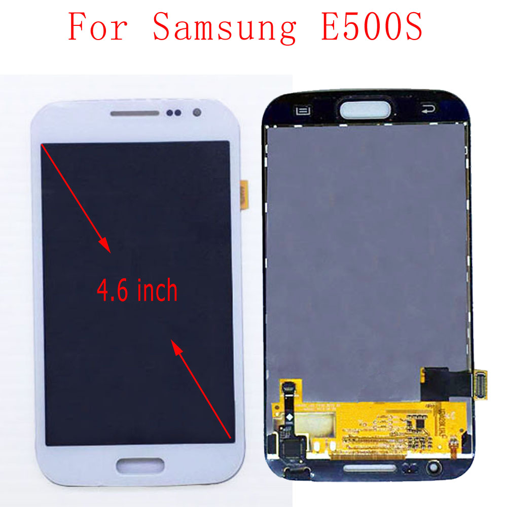 STARDE Replacement LCD For Samsung Galaxy E500S LCD Display Touch Screen Digitizer Assembly White 4.6