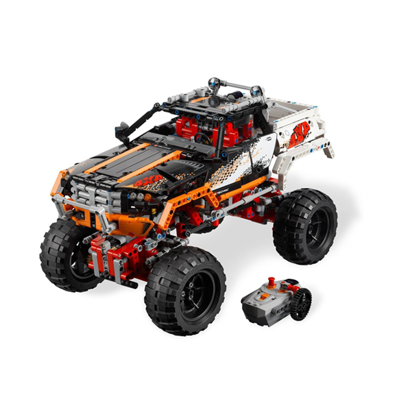 Compatible Legoe Technic 9398 model 20014 1386pcs 4X4 Crawler Vehicles Model building blocks Figure bricks toys for children decool 3117 city creator 3 in 1 vacation getaways model building blocks enlighten diy figure toys for children compatible legoe