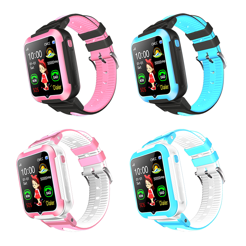 E7+ Kids Smartwatch Waterproof Baby Tracking SOS Call Location Finder with SMS Camera MP3 Safety Monitor Sport Bracelet