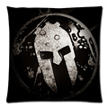 45x45cm Spartan Race Polyester cushion cover decorative two side print throw pillows case for sofa home decor pillowcase