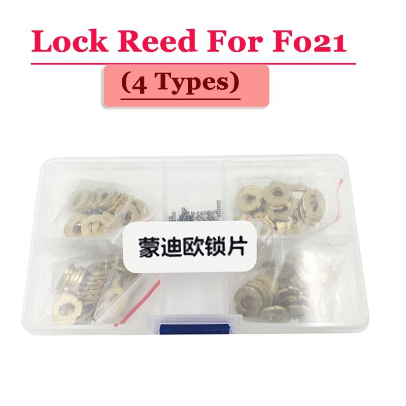 Free Shipping (100pcs/box )FO21 Car Lock Reed Locking Plate For Ford Lock (each Type 25pcs) Repair Kits