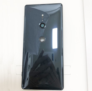 Image 3 - New For Sony Xperia XZ2 Back Battery Door Cover Rear Door Housing H8216 H8266 H8276 H8296 rear back glass Case with Camera Lens