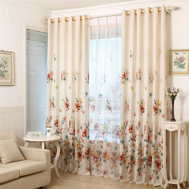 shade window blackout curtain fabric modern curtains for living room