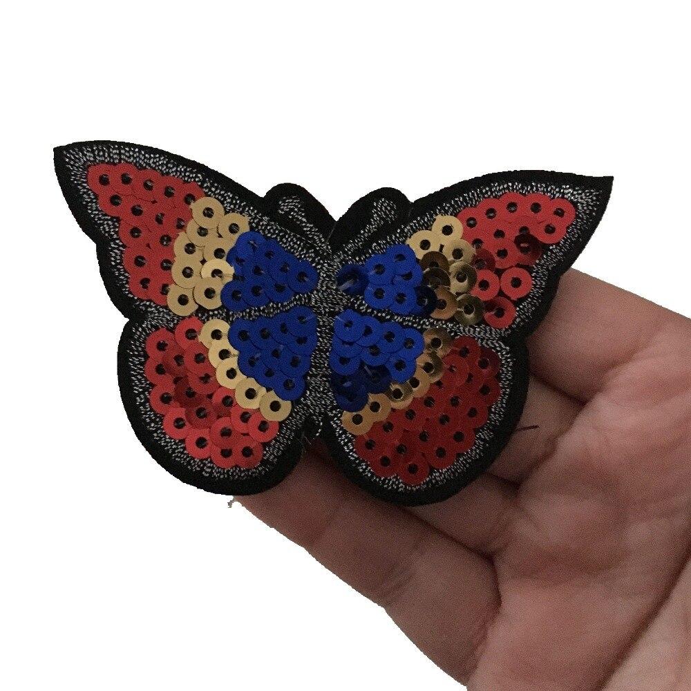 Sequins Πεταλούδα πεταλούδα για IKids Ρούχα - Τέχνες, βιοτεχνίες και ράψιμο - Φωτογραφία 3
