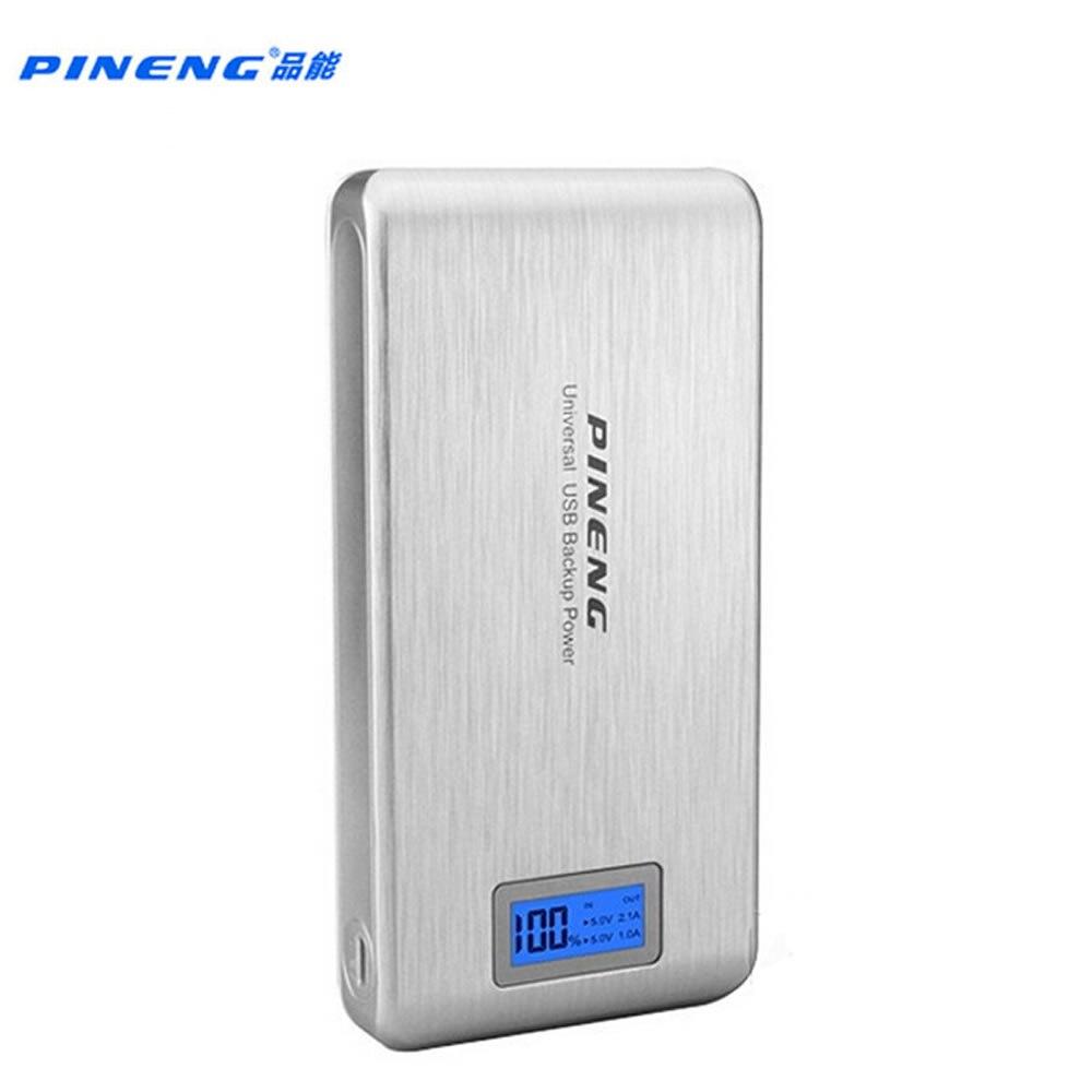 imágenes para Original pineng banco de la energía 15000 mah batería externa power pack con indicador led para iphone7 pn929 xiaomi6s meizu oppo pn-929