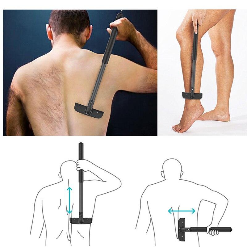 Adjustable Retractable Men Back Shaver Not asking for people Back Hair Trimmer lasting durable Back Razor