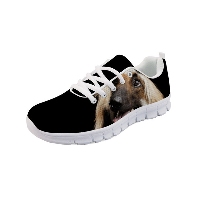 Noisydesigns Cute Dog Shoes Sneakers