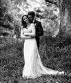 Vestidos Novia старинные кружева русалка свадебные платья с длинным рукавом аппликации развертки поезд весна / осень спинки свадебные платья
