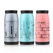 250 350 500 ml Hot Koreanische Edelstahl Tee Wasser kaffee Vakuumflasche Thermosflasche Tasse Becher Neue sport dicht HJ05
