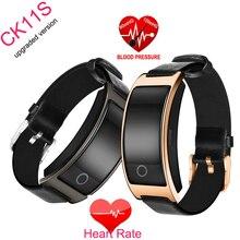2017 обновления смарт-браслет CK11S часы умный Браслет артериального давления монитор сердечного ритма Pedomter Find Phone фитнес-трекер