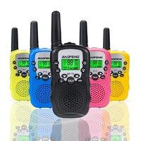 שני הדרך רדיו uhf 2pcs סיטונאות ילדים מיני ילדים UHF מכשיר הקשר BF-T3 Baofeng FRS שני הדרך רדיו Comunicador T3 Handy Talkie משדר Hf (3)