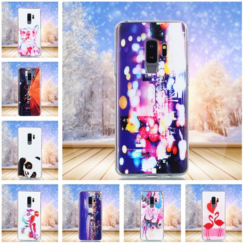 HATOLY для крышки samsung Galaxy S9 Plus мультфильм мягкая силиконовая резина Телефон чехол для samsung Galaxy S9 плюс крышка fundas