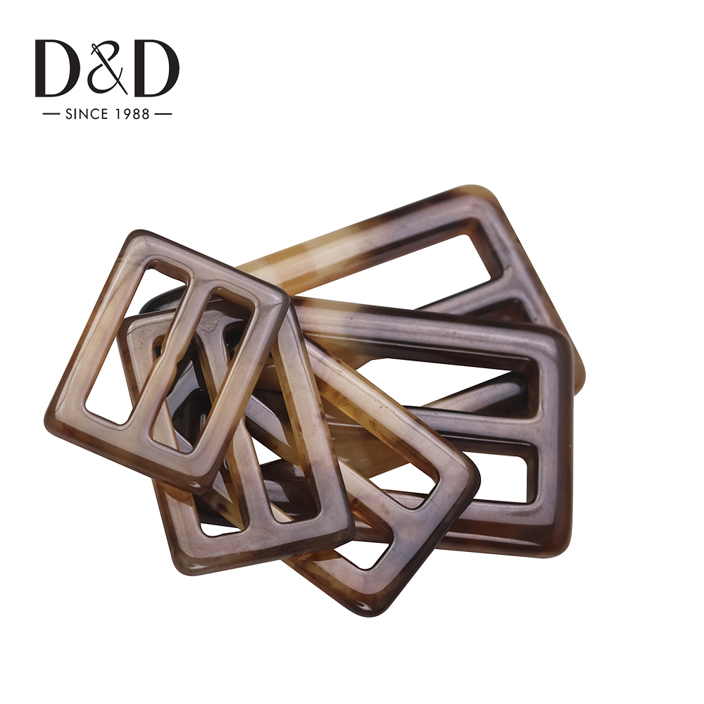25/30/35/45/50mm Buckle for Clothes Scarf Adjust Buckle T-shirt Garment Accessories Knot Tri-glides Wire-formed Strap
