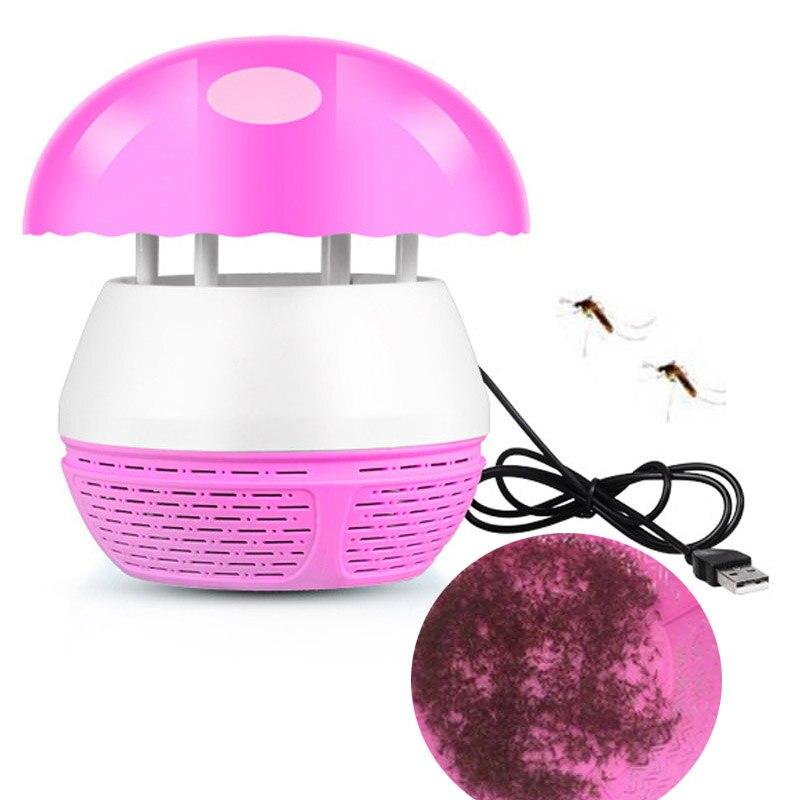 USB presa della zanzara Repellente Per Fotocatalizzatore Elettronico Trappola letto Anti Mosquito Killer Lampada Insetto Mosca Bug Pest Repeller Rifiutare
