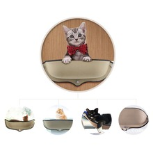 Hot Sale Cat Hammock Bed Mount Window Pod Lounger Suction Cups Warm Bed For Pet Cat Rest House Soft And Comfortable Ferret Cage hanging cat cuddle pod