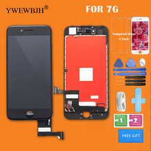 10pcs/lot Grade AAA  LCD For iphone 7 LCD Screen digitizer Assembly with 3D touch screen Replacement Free DHL for htc titan x310e lcd with touch screen digitizer assembly by free dhl ups or ems 100% warranty 5pcs lot