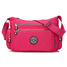 New Hot Selling Shoulder bag Women Solid Coloy Casual Nylon Waterproof Bags Light Travel Leisure Shoulder Bag Messenger new hot selling shoulder bag women solid coloy casual nylon waterproof bags light travel leisure shoulder bag messenger