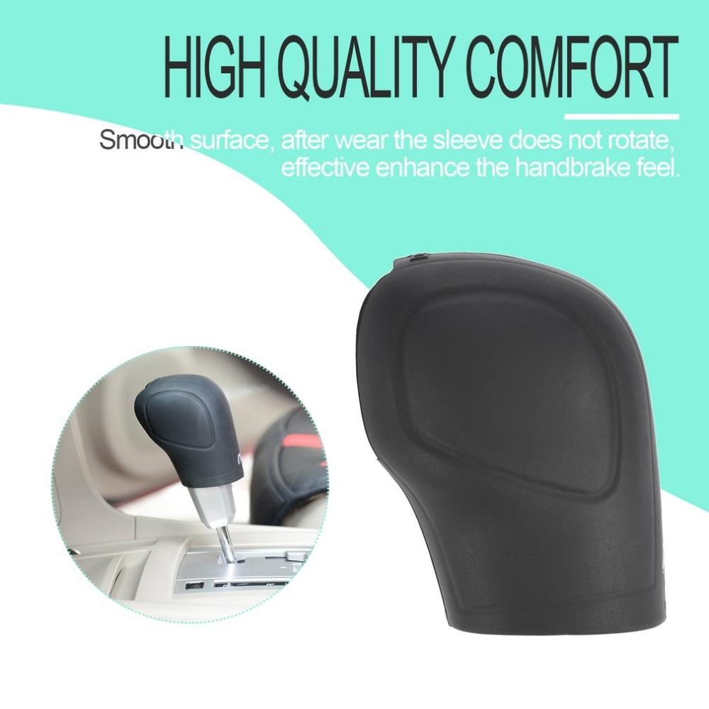 2Pcs Silicone Car Gear Knob Cover Head Glove Gear Collars Handbrake Grips Sleeve Car Hand Brake Covers Car-styling Free Shipping