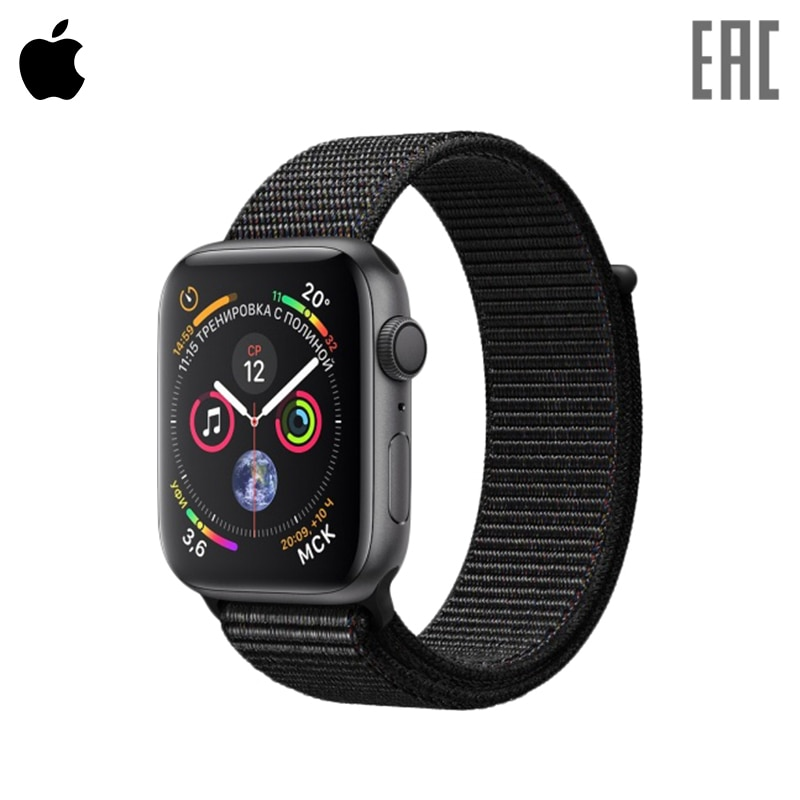 Smart Watch Apple Watch Series 4, 44 mm 0-0-12 smart watch apple watch series 3 gps 42 mm sport band