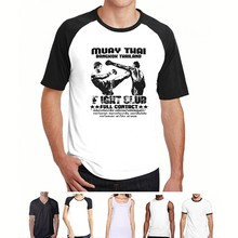 Lucu Kaos Muay Thai Kickboxing Judo Pria Kaos Fashion(China)