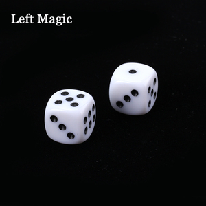 Russian Dice Deluxe Forcing Dice (Black Color Dice) - Magic Tricks Fun Magic Street Close Up Stage Accessories Illusion Mental(China)