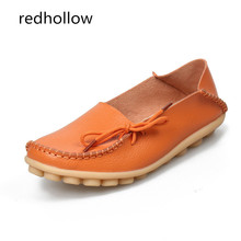 Women Flats Real Leather Shoes Soft Loafers Slip-On Female Flat Shoes Comfort Ladies Driving Shoes Mother Footwear Plus Size44 siketu best gift women flats shoes slip on comfort shoes flat shoes loafers drop shipping dec27 3
