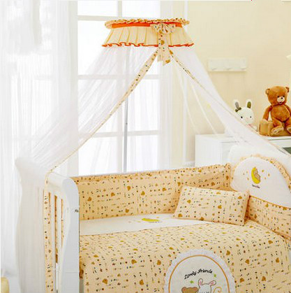 Baby mosquito nets baby crib nets bracket drop zone bb bed nets nets child hood