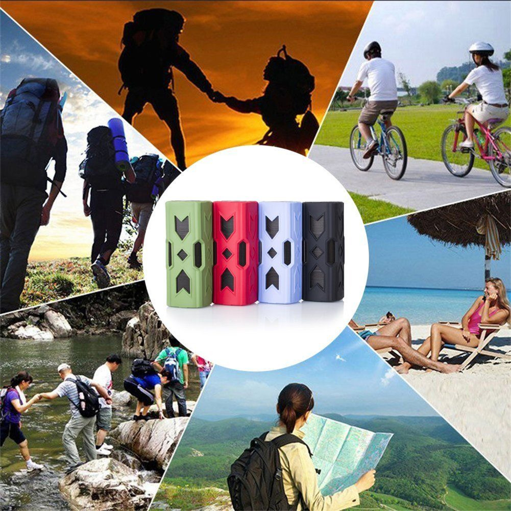 Outdoor Waterproof Bluetooth Speaker CSR-4.0 With NFC Function Emergency Charging Port Portable Audio And Video Equipment 10