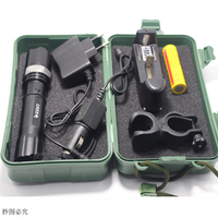 Led Flashlight Tactical CREE Q5 2000LM Led Lamp Light 18650 Torch Rechargeable Police Flashlight Battery Car