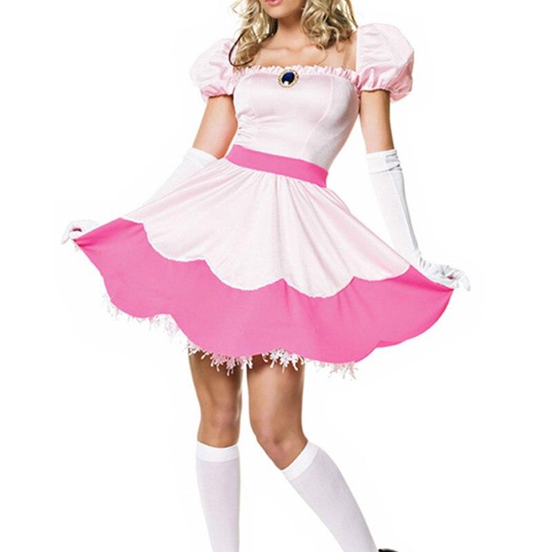 New Sexy Sleeping Beauty Dress Cute Cosplay Maid -6499
