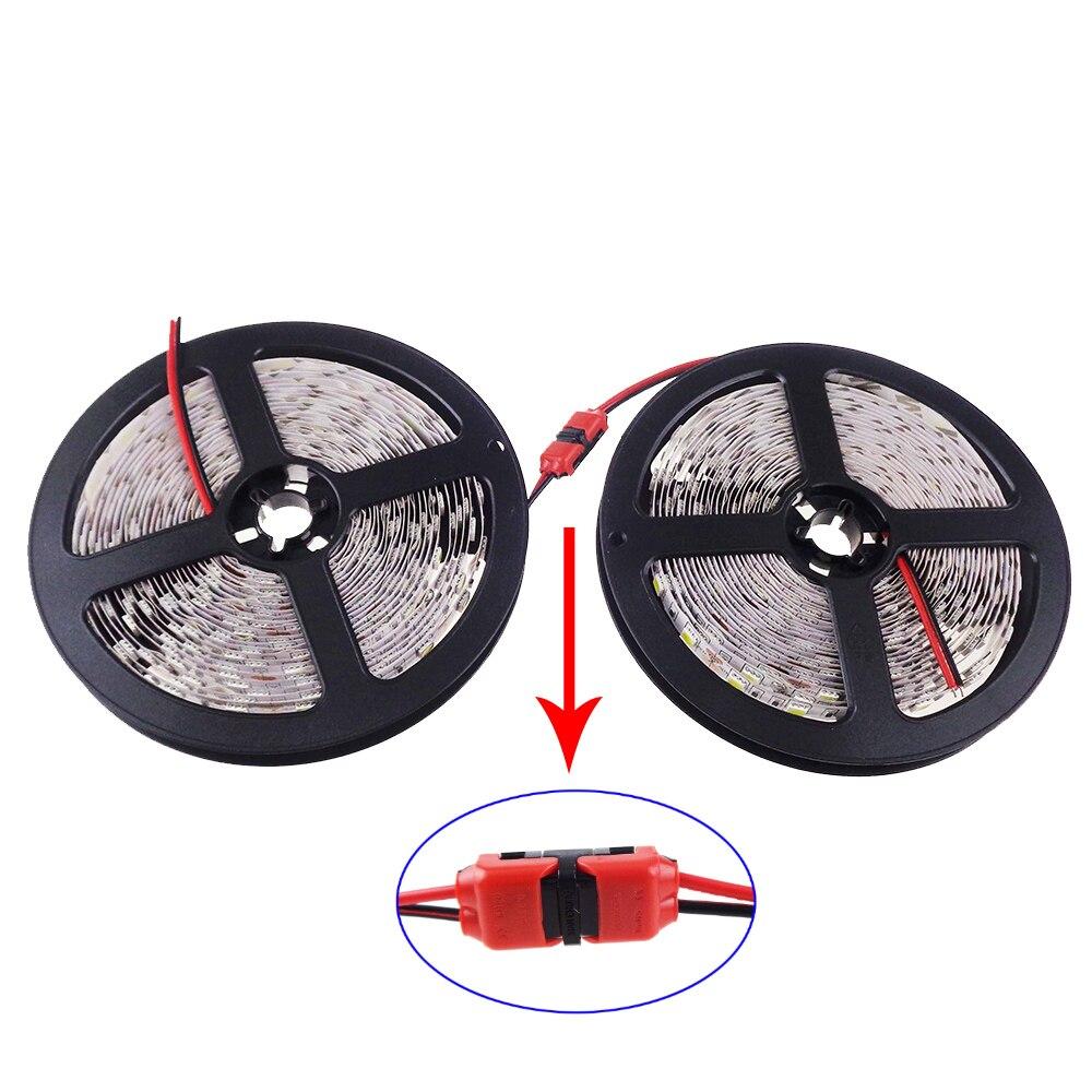 10M/lot LED Strip 5050 600Led SMD Light DC12V single color red ww blue white green home decor ribbon flexible IL