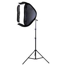 80×80 см Softbox сумка комплект для Камера Studio флэш-fit Bowens Elinchrom крепление с подставкой