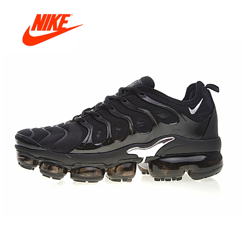 Original New Arrival Authentic Nike Air Vapormax Plus TM Men's Breathable Running Shoes Outdoor Sneakers Good Quality 924453-006