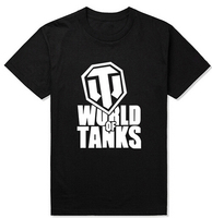 2017 Summer Style Funny World Of Tanks T Shirt Men Manufacture World War Ii Tank T