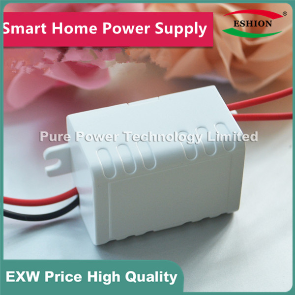 5pcs White Case 90~240V 110/220V AC to 9V400mA Step Down DC Converter LED Switching Power Supply module 3W 9V400mA