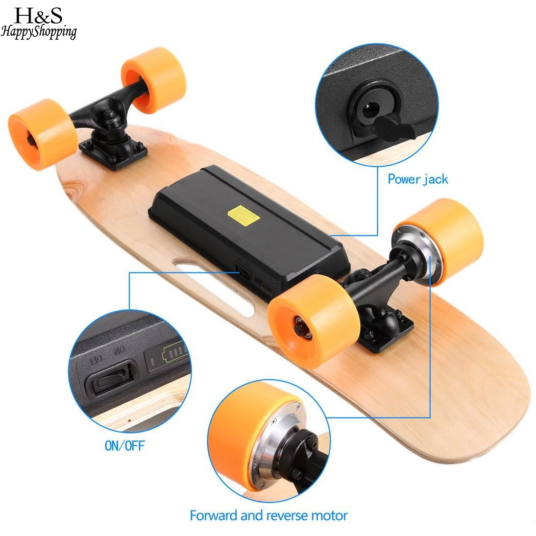 Hot 4 Wheels Electric Skateboard Scooter Electric Hoverboard Maple Deck Electric Skateboard Longboard with Remote Controller
