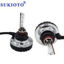 Sukioto Японии фар автомобиля Ксеноновые 9005 HID комплект H11 Canbus туман light 4300 К 5000 К 6000 К Мини для всех HB3 H11 авто лампа
