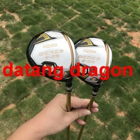 datang dragon golf woods HONMA S 06 3 star fairway woods 3#5#with graphite golf shaft headcover golf clubs