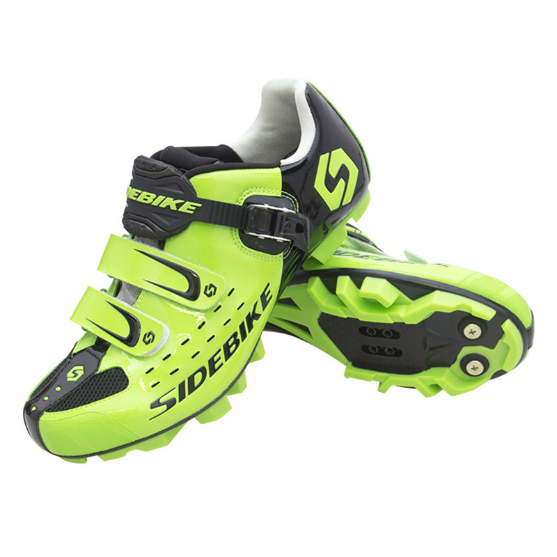 Image 4 - SIDEBIKE Pro Mens Mountain Bike Shoes MTB Cycling Shoes Self Locking Riding Bicycle Shoes with Mesh Holes and hook & loop-in Cycling Shoes from Sports & Entertainment on AliExpress