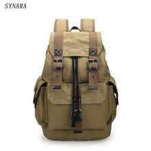 Neue 2016 mode für männer rucksack vintage leinwand rucksack schultasche männer reisetaschen große kapazität rucksack