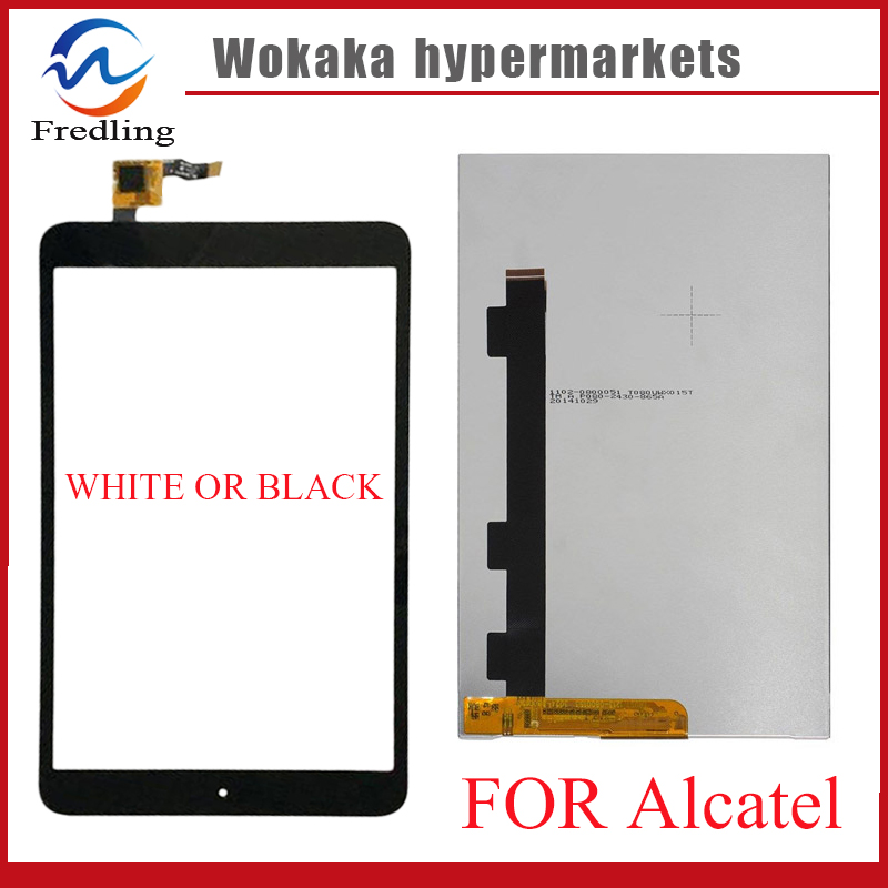 New tablet pc for Alcatel One Touch POP 8 P320X P320 Touch Screen digitizer touch panel lcd display Free Shipping rtdpart laptop keyboard base for asus t100 t100ta us the united states black 95