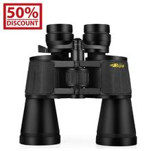 BIJIA 10-120X80 professional zoom optical binoculars telescope with tripod interface for hunting travel все цены