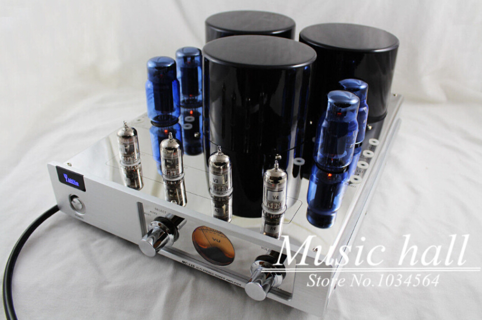 YAQIN MC-13S 6CA7 Vacuum Tube Push-Pull Integrated Amplifier HIFI stereo tube AMP 110/240V yaqin t 6p3p tube amplifier 6p3p hifi exquis integrated amplifier with headphone output