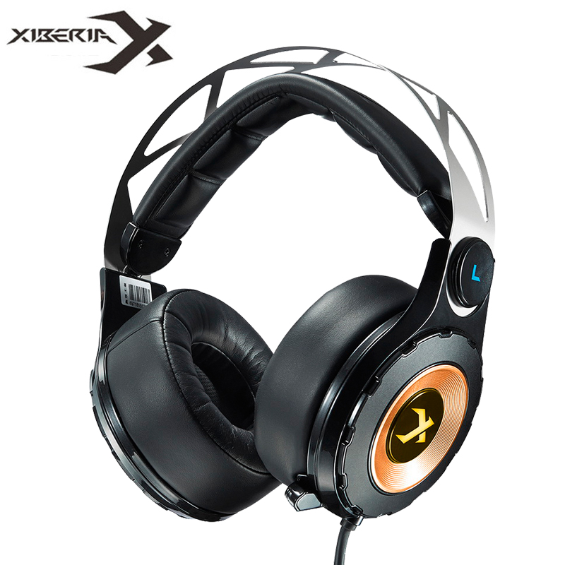 XIBERIA T18 Stereo Gaming Headphones with Microphone 7 1 Surround Sound Deep Bass Gamer Headset for