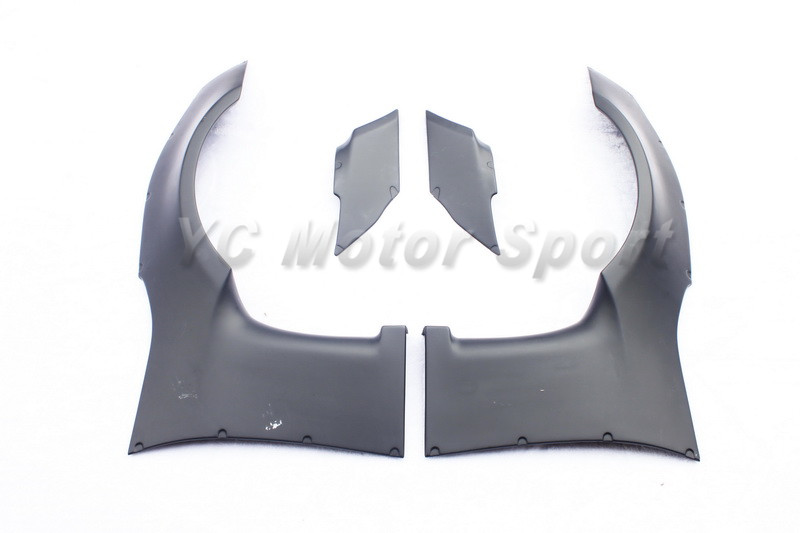 GT86 FT86 ZN6 FRS BRZ ZC6 Greddy X Rocket Bunny Ver.1 Style Front Fender Cover FRP (7)