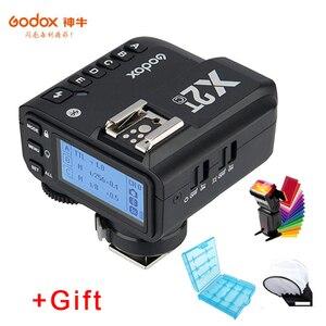 Image 1 - Godox X2T C X2T N X2T S X2T F X2T O TTL مشغل فلاش لاسلكي لكانون نيكون سوني كاميرا اتصال بلوتوث HSS