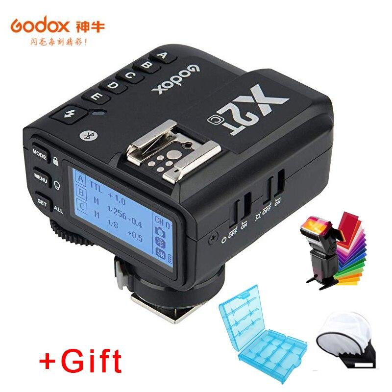 Godox X2T-C X2T-N X2T-S X2T-F X2T-O X2T-P TTL Sem Fio Flash Gatilho para Canon Nikon Sony Camera Bluetooth Conexão HSS